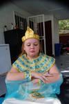 Praying Cleopatra Child Stock 1