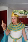 Queen Cleopatra Child Stock
