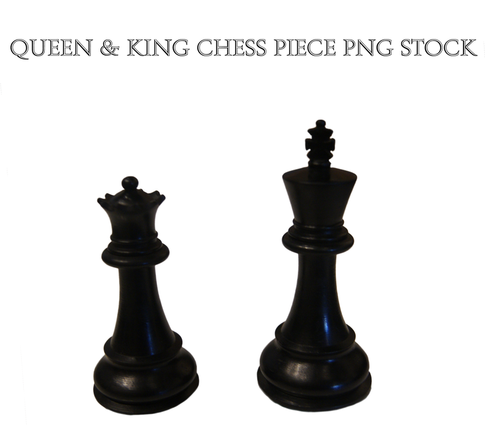 Queen and King Chess Piece PNG STOCK by KarahRobinson-Art ...