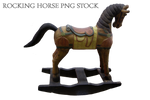 Rocking Horse png stock