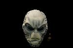 Alien Head 2 PNG STOCK