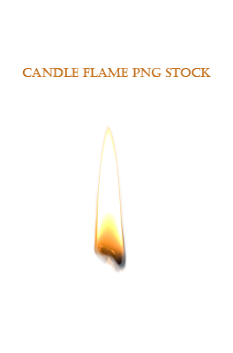 Candle Flame PNG STOCK