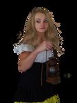 Barmaid Model- PNG STOCK