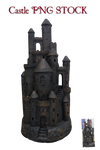 Castle PNG STOCK