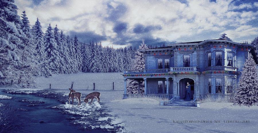 Winter Solace by KarahRobinson-Art