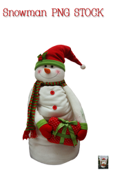 Snowman PNG STOCK by KarahRobinson-Art