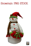 Snowman PNG STOCK