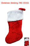 Christmas Stocking PNG STOCK