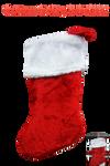 Christmas Stocking PNG STOCK