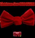 Christmas Bow PNG STOCK