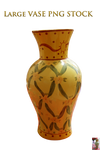 Large VASE PNG STOCK
