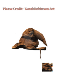 The Wizards Pet Hat PNG STOCK