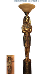 Egyptian Statue PNG STOCK 2