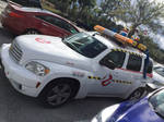 Ghostbusters Car Photo Stock -side View