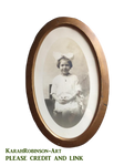 Vintage Child Picture PNG