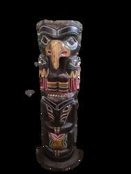Totem Pole PNG STOCK