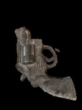 Antique Pistol PNG STOCK