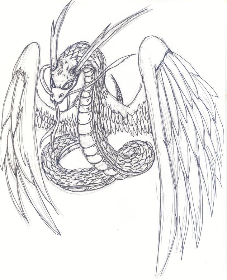 - Quetzalcoatl - by kxt-schubaltz on DeviantArt