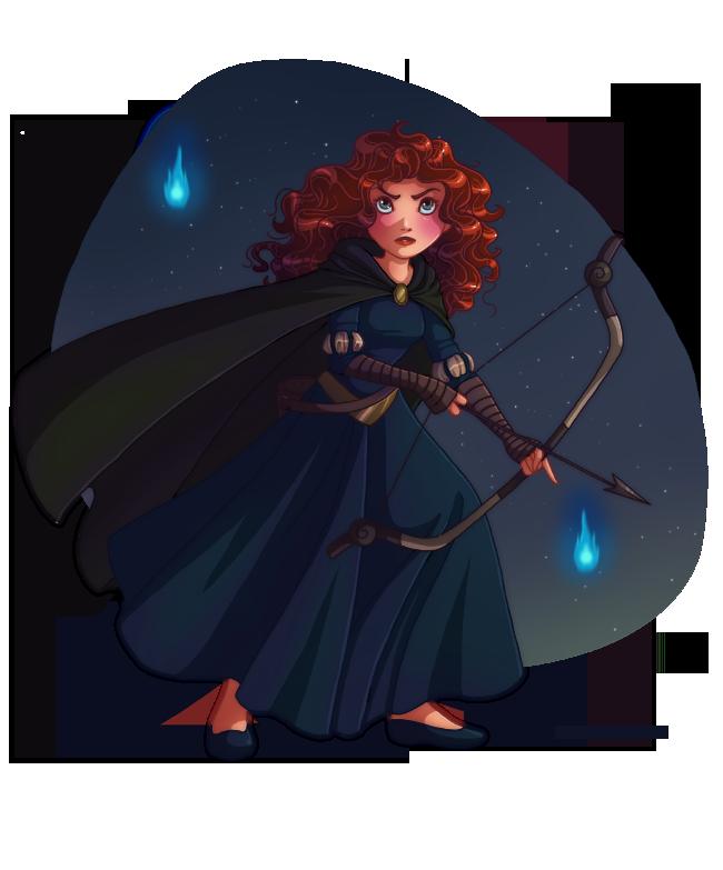 Princess Merida by HollyBell