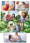 Love story comic