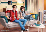 Chilling by HollyBell
