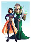 AU Snow and the Queen