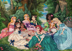 The princess tea party - take 2