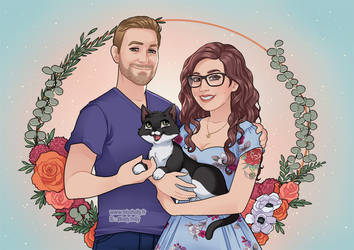 Anniversary portrait by HollyBell