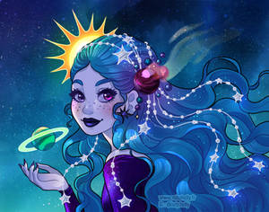 Cosmos lady
