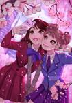 Hanami selfie