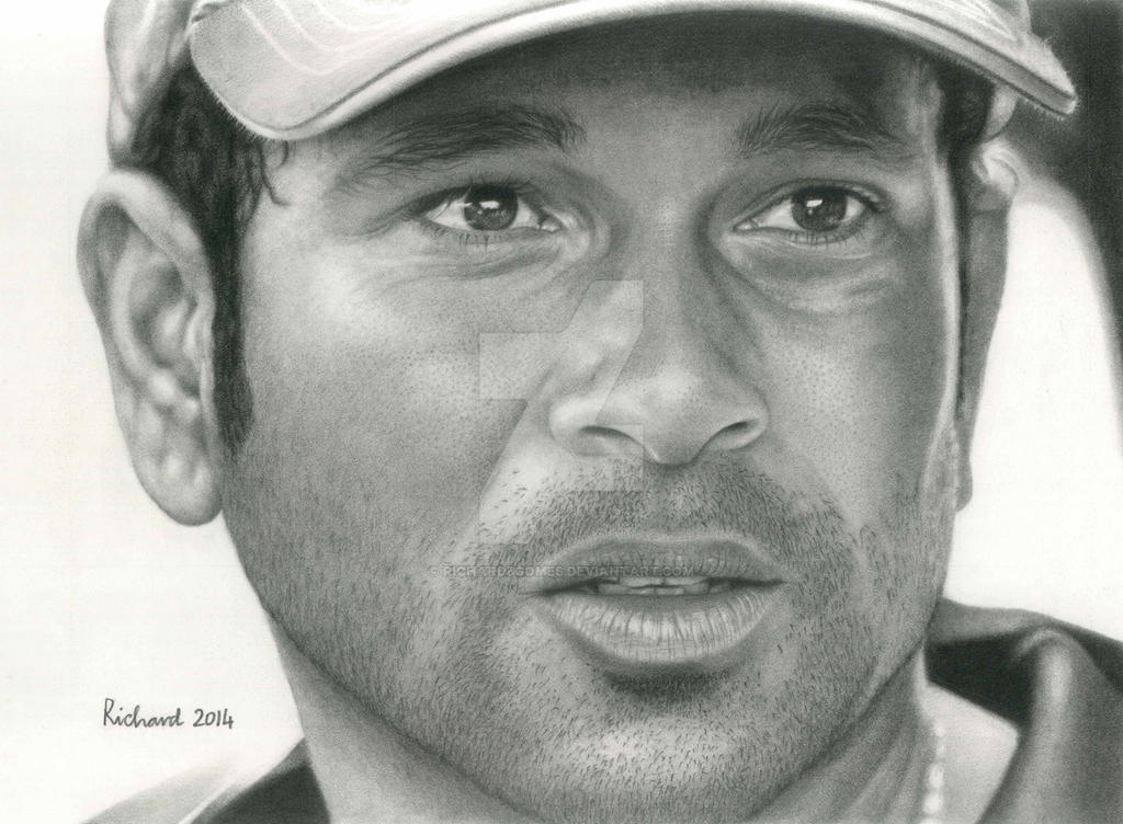 God of the modern cricket - Sachin Tendulkar by richardbgomes