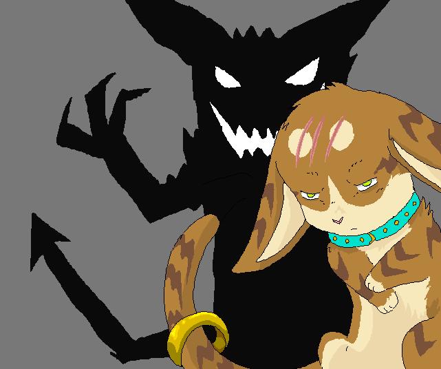 my demon by reaper-neko