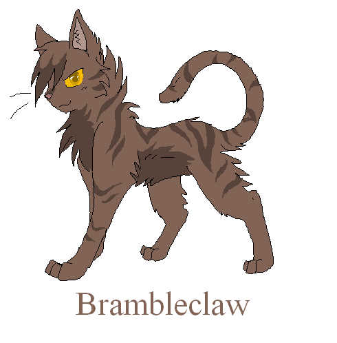 Squirrelflight And Brambleclaw Coloring Pages