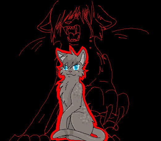 Demon Kitty, the demoniac cat. Ashfurs_black_dahila_by_reaper_neko