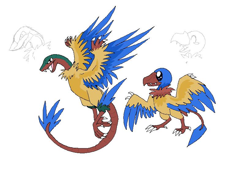 The Archeopteryx Pokemon By Reaper Neko On Deviantart