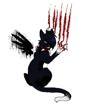 Demon Kitty, the demoniac cat. Insane_would_be_an_by_reaper_neko-d2zq8rn
