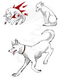 hewie doodles by reaper-neko