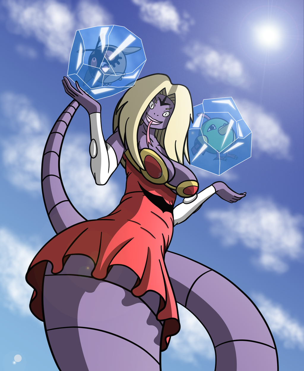 Arbok And Jynx Fusion Pokemon Mashup Challenge By Hado Abyss On Deviantart