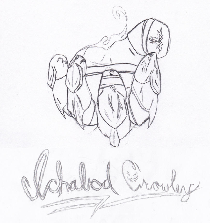 Ichabod Crowley 5 by TheDevilsTrick