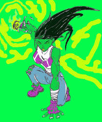 She Hulk Gamma Punch by TheDevilsTrick