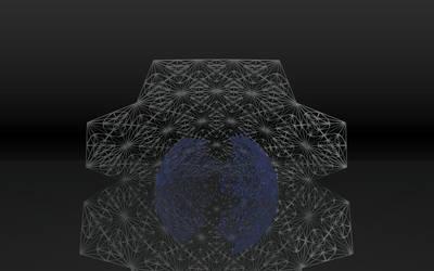 Geodesic stars 002