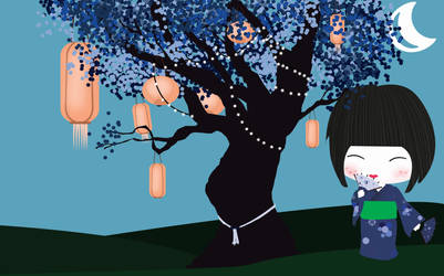 kokeshi by desingthelife