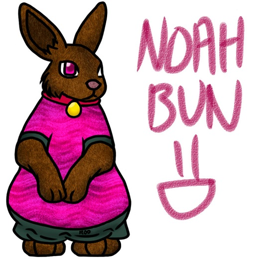 BunnyNoah by forestchick501