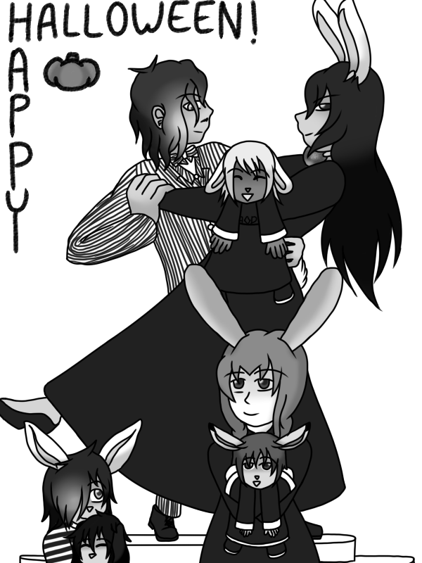 The Most Perfect Family Halloween by forestchick501