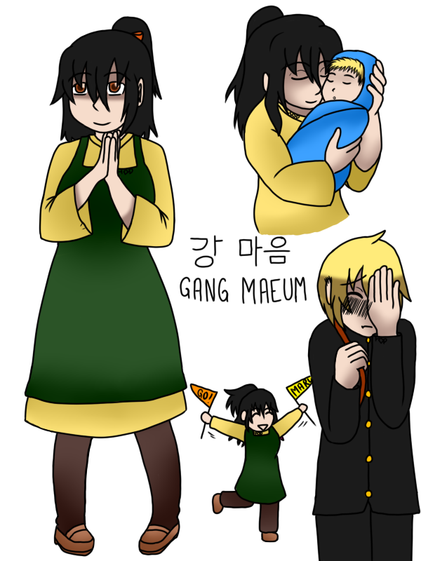 Gang Maeum Ref by forestchick501