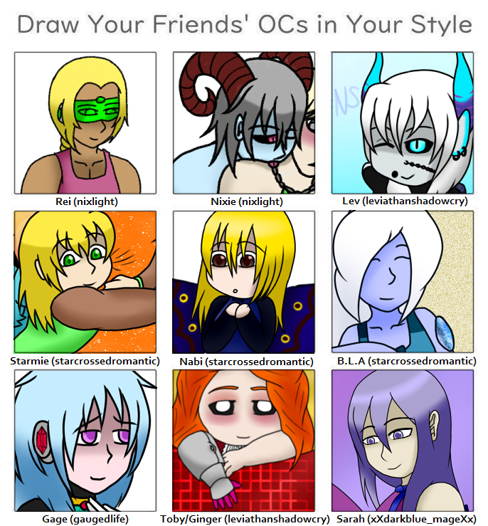 Drawing Challenge by forestchick501