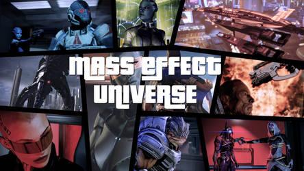 Mass Effect Universe (GTA Wallpaper style)