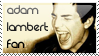 Adam Lambert Fan by sugarpoultry