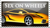Lamborghini Gallardo Stamp by sugarpoultry