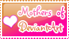 Mothers of Deviant Art by sugarpoultry